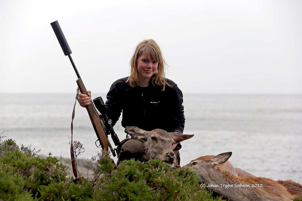 Gratis hjortejakt på Svanøy