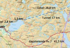 Vil ha tunnel under Hardangervidda