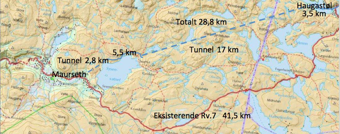 grunneier kart Kart Tunnel Hardangervidda   Hjorteviltportalen grunneier kart