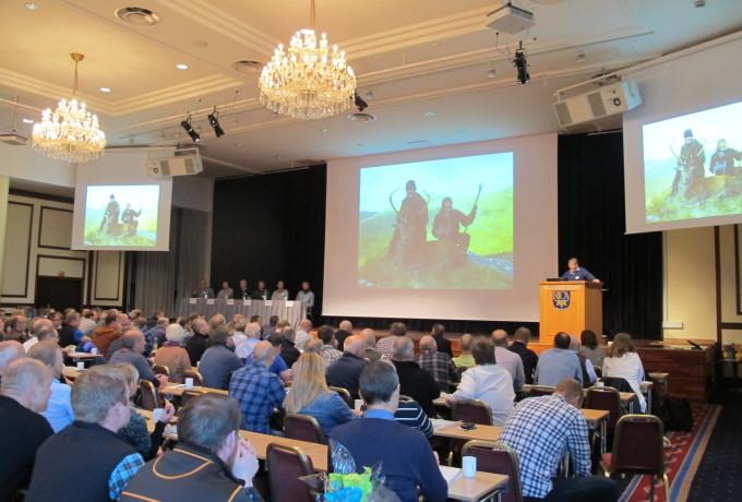 Rekordoppslutning om Naturdatas viltkonferanse