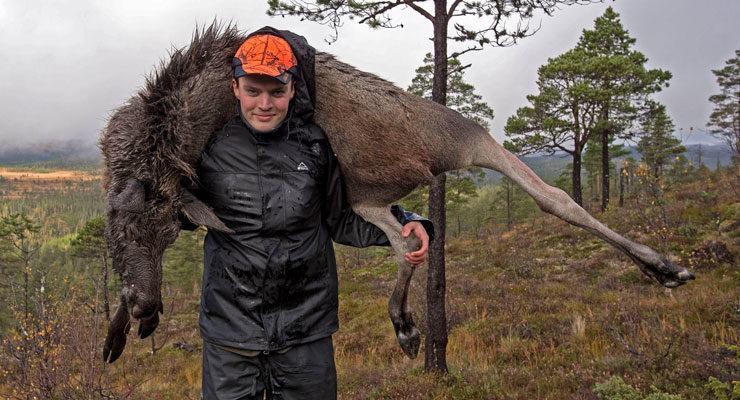 690 kilo med bly i elgskrotter