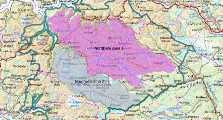 Informasjon til villreinjegere i Nordfjella
