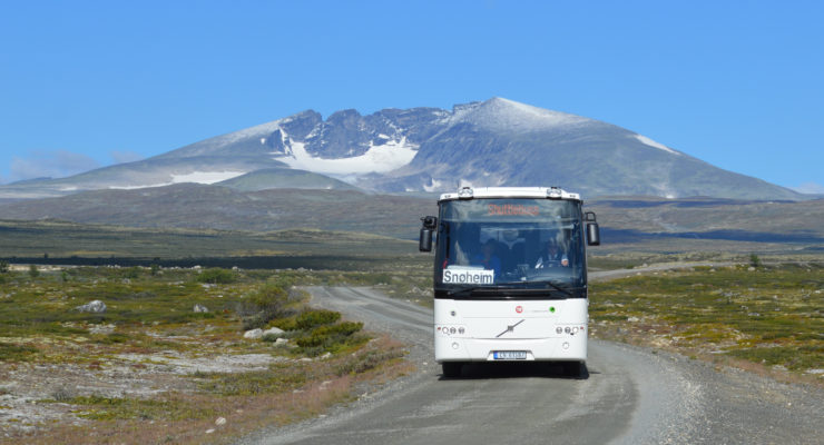 Besøke Snøhetta i sommer? Vis hensyn – ta bussen